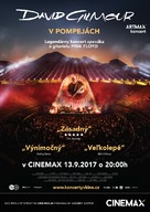 David Gilmour Live at Pompeii - Slovak Movie Poster (xs thumbnail)