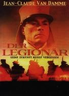 Legionnaire - German DVD cover (xs thumbnail)