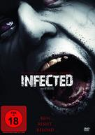 Infected - German DVD cover (xs thumbnail)