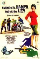 Key Witness - Spanish Movie Poster (xs thumbnail)