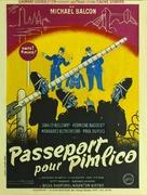 Passport to Pimlico - French Movie Poster (xs thumbnail)