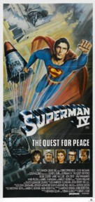 Superman IV: The Quest for Peace - Australian Movie Poster (xs thumbnail)