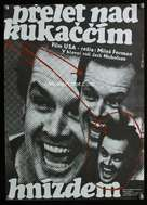 One Flew Over the Cuckoo's Nest - Czech Movie Poster (xs thumbnail)