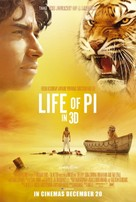 Life of Pi - Theatrical movie poster (xs thumbnail)