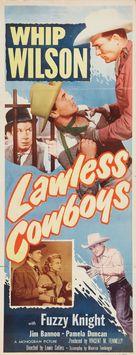 Lawless Cowboys - Movie Poster (xs thumbnail)