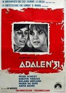 Ådalen '31 - Italian Movie Poster (xs thumbnail)