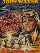 Flying Tigers - Belgian Movie Poster (xs thumbnail)