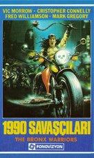 1990: I guerrieri del Bronx - Turkish VHS cover (xs thumbnail)
