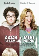 Zack and Miri Make a Porno - Portuguese Movie Poster (xs thumbnail)