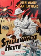 The Fighting Seabees - Danish Movie Poster (xs thumbnail)