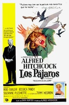 The Birds - Puerto Rican Movie Poster (xs thumbnail)