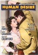 Human Desire - British DVD movie cover (xs thumbnail)