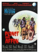 Planet of the Apes - German Movie Poster (xs thumbnail)