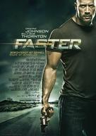 Faster - German Movie Poster (xs thumbnail)