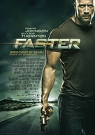 Faster - German Movie Poster (xs thumbnail)