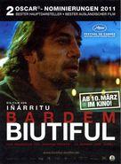 Biutiful - German Movie Poster (xs thumbnail)