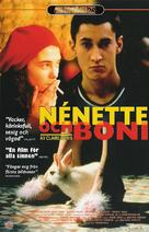 Nénette et Boni - Swedish Movie Poster (xs thumbnail)