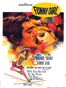 Funny Girl - French Movie Poster (xs thumbnail)