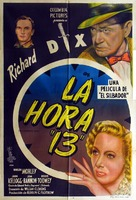The Thirteenth Hour - Argentinian Movie Poster (xs thumbnail)