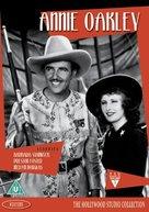 Annie Oakley - British DVD cover (xs thumbnail)