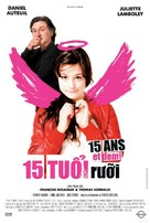 15 ans et demi - Vietnamese Movie Poster (xs thumbnail)