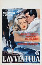 L'avventura - Belgian Movie Poster (xs thumbnail)