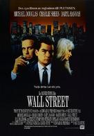 Wall Street - Swedish Movie Poster (xs thumbnail)