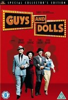 Guys and Dolls - British DVD movie cover (xs thumbnail)