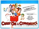 Carry on at Your Convenience - British Movie Poster (xs thumbnail)