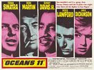 Ocean's Eleven - British Movie Poster (xs thumbnail)