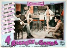 Four Girls in Town - Italian Movie Poster (xs thumbnail)