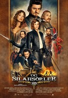 The Three Musketeers - Turkish Movie Poster (xs thumbnail)