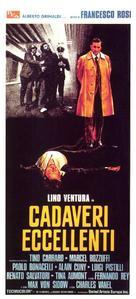 Cadaveri eccellenti - Italian Movie Poster (xs thumbnail)