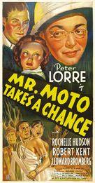 Mr. Moto Takes a Chance - Movie Poster (xs thumbnail)