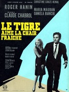 Tigre aime la chair fraiche, Le - French Movie Poster (xs thumbnail)