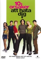 10 Things I Hate About You - Swedish DVD movie cover (xs thumbnail)