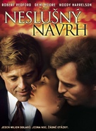 Indecent Proposal - Czech DVD movie cover (xs thumbnail)
