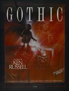 Gothic - French Movie Poster (xs thumbnail)