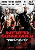 Never Surrender - DVD cover (xs thumbnail)