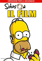 The Simpsons Movie - Italian Movie Cover (xs thumbnail)