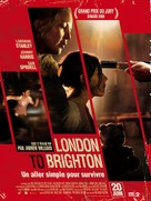 London to Brighton - French Movie Poster (xs thumbnail)