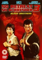 No Retreat, No Surrender 3: Blood Brothers - British DVD cover (xs thumbnail)
