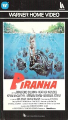 Piranha - VHS movie cover (xs thumbnail)
