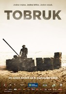Tobruk - Slovak Movie Poster (xs thumbnail)