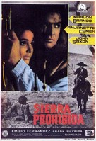 The Appaloosa - Spanish Movie Poster (xs thumbnail)