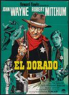 El Dorado - Danish Movie Poster (xs thumbnail)