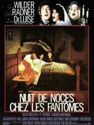 Haunted Honeymoon - French Movie Poster (xs thumbnail)