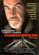 Just Cause - Danish Movie Poster (xs thumbnail)
