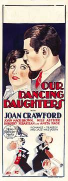 Our Dancing Daughters - Australian Movie Poster (xs thumbnail)