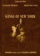 Gangs Of New York - German Movie Cover (xs thumbnail)